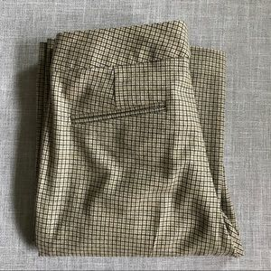 Theory Wool Houndstooth Trousers